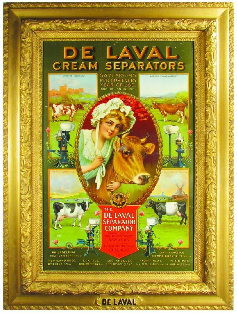 1907 DeLaval Cream Separators Sign Green Version