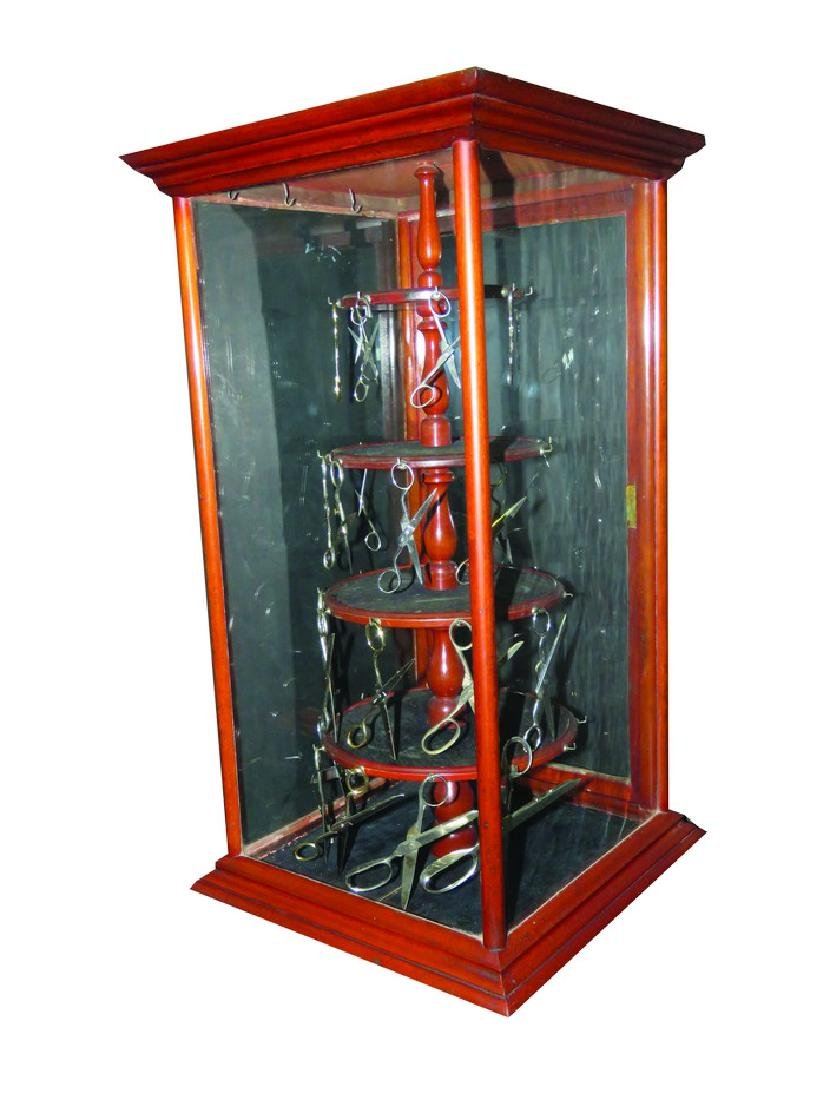 Scissors Store Display Case