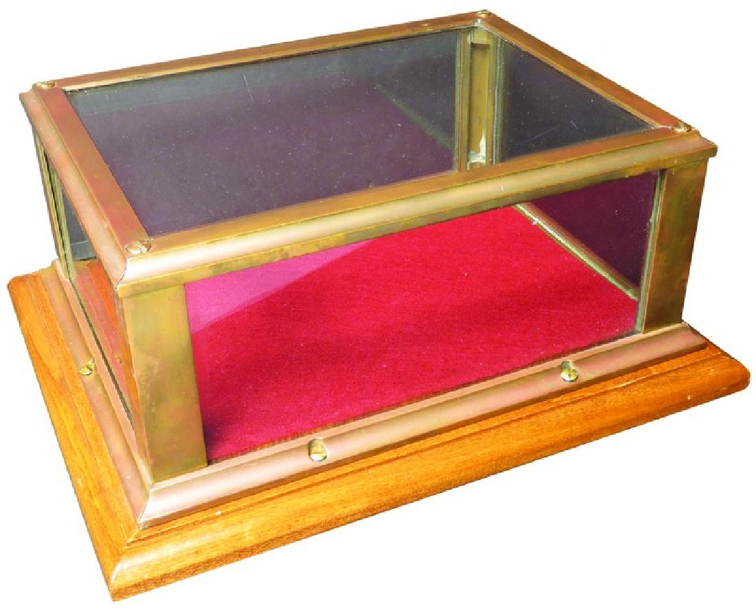 Brass Store Display Case