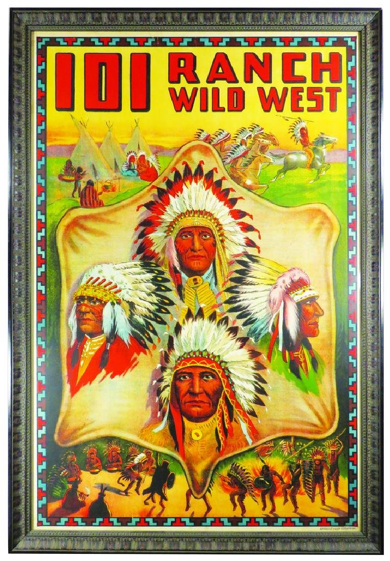 101 Wild West Ranch Show Poster
