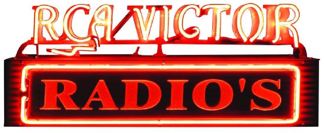 RCA Victor Radio Neon Sign