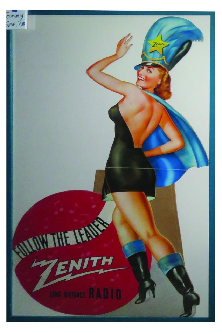 Zenith Die Cut Easel Back Window Display