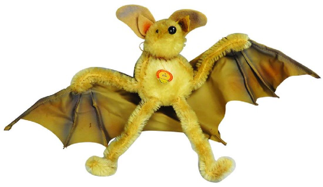 "Rare Vintage Steiff ""Eric"" the Bat Stuffed Animal"