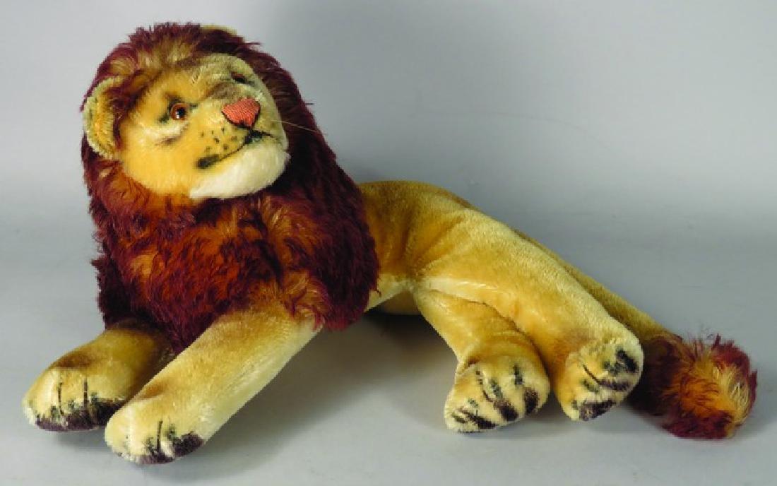 Vintage Steiff Laying Down Leo Lion