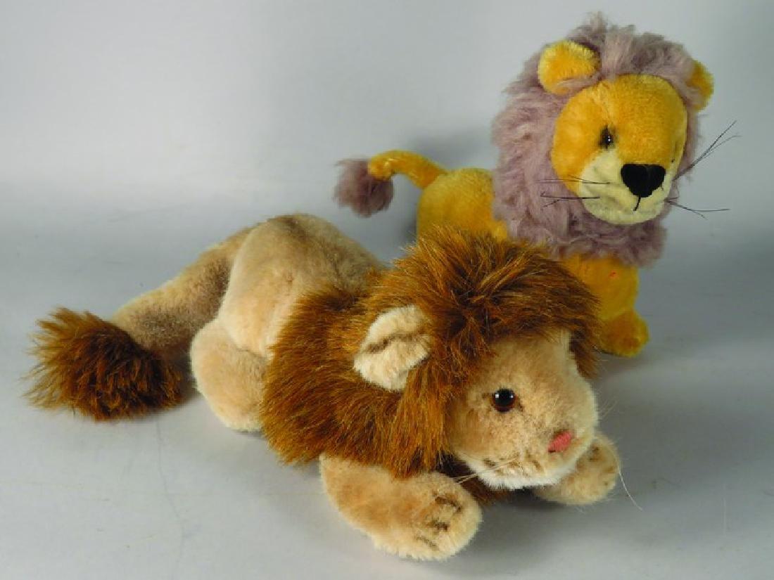 Vintage Stuffed Lion Toys