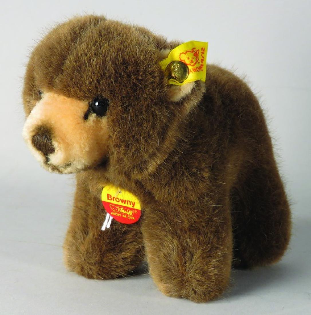 "Vintage Steiff Original ""Browny"" Bear"
