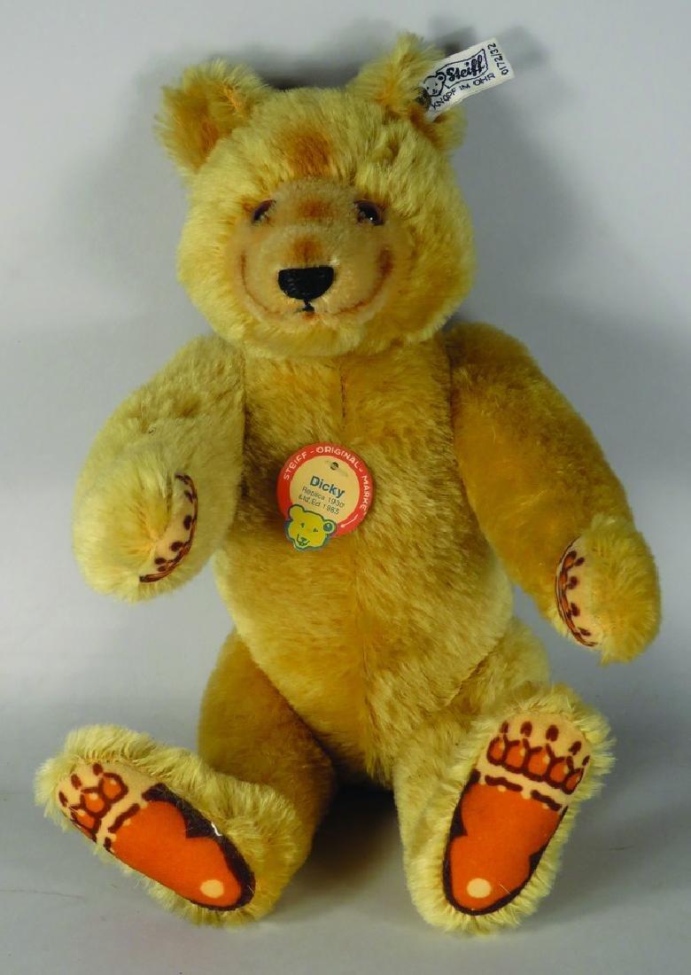 "Vintage Steiff Original ""Dicky"" Teddy Bear"