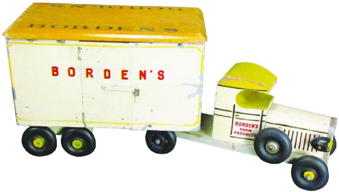 Borden's Milk Truck. Rich Toys, Morrison IL.