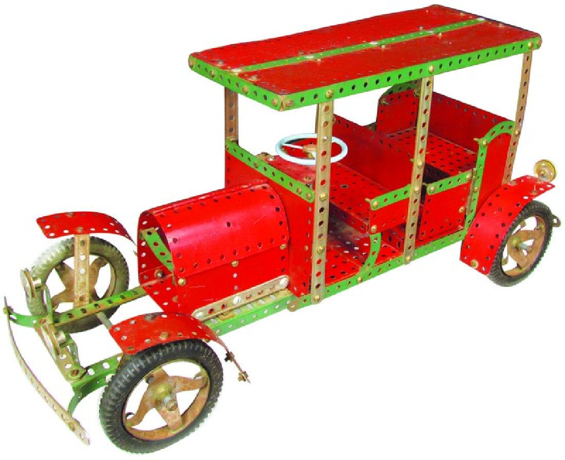 English Erector Set Store Display Model Car