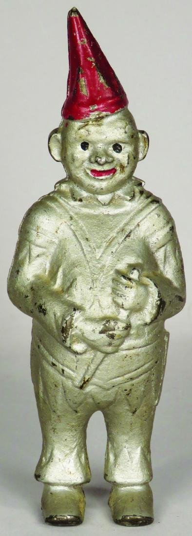 Clown Cast Iron Still Bank