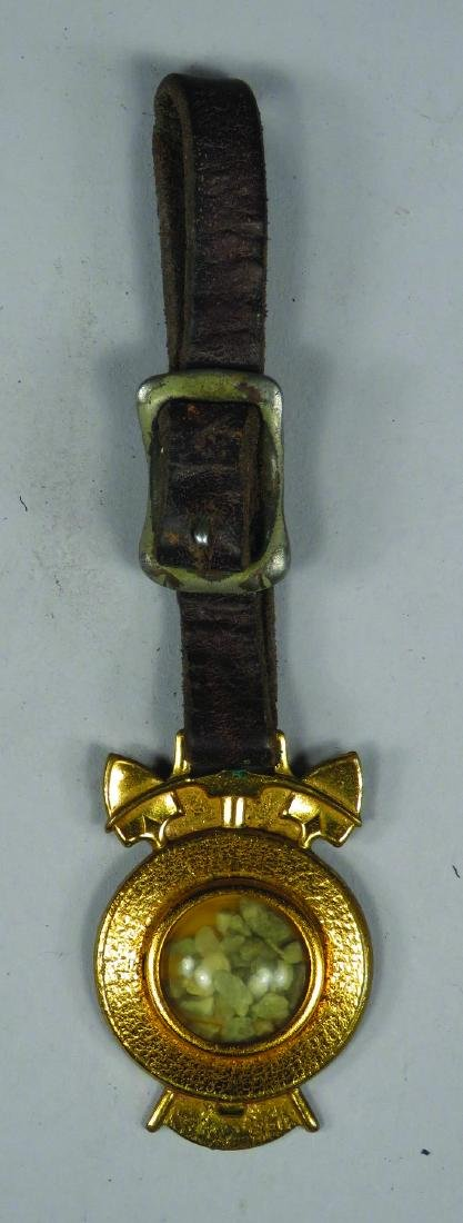Ralston Straight Shooters Gold Ore Watch Fob