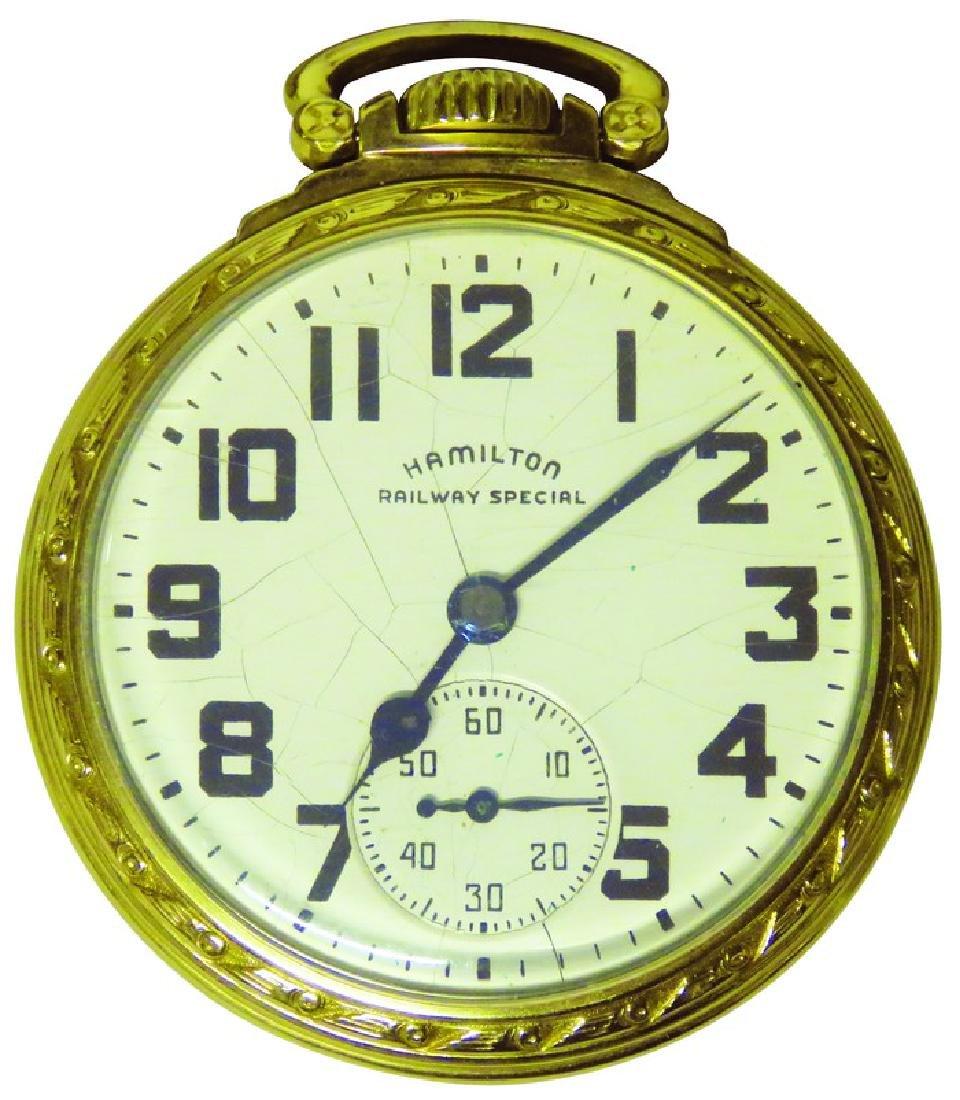 Hamilton Co. Railway Special Pocket Watch