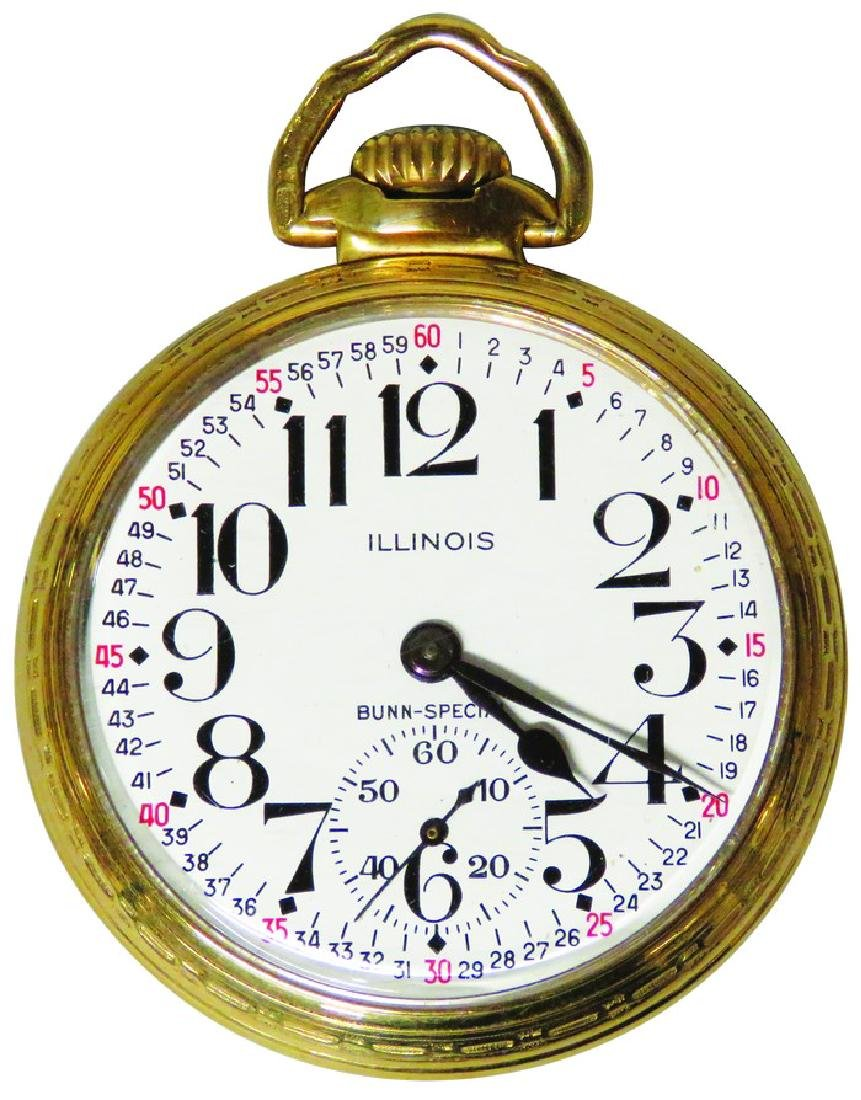 Illinois Watch Co. Bunn Special Pocket Watch