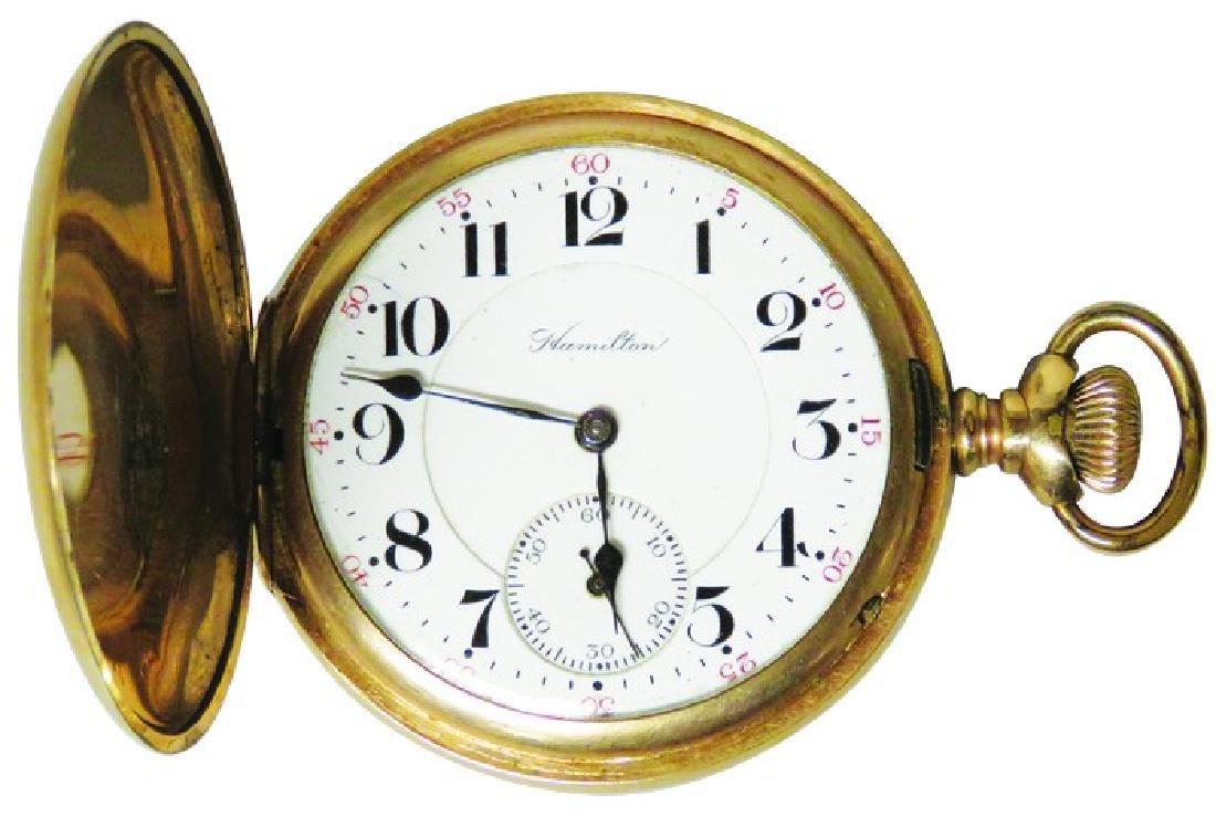 Hamilton Watch Co. Pocket Watch
