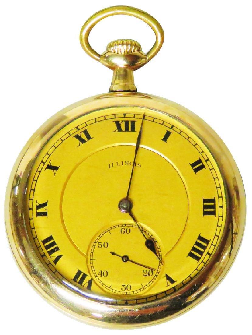 Illinois Watch Co. Sangamo  Pocket Watch