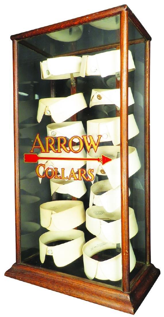 Arrow Collars Store Counter Display Case