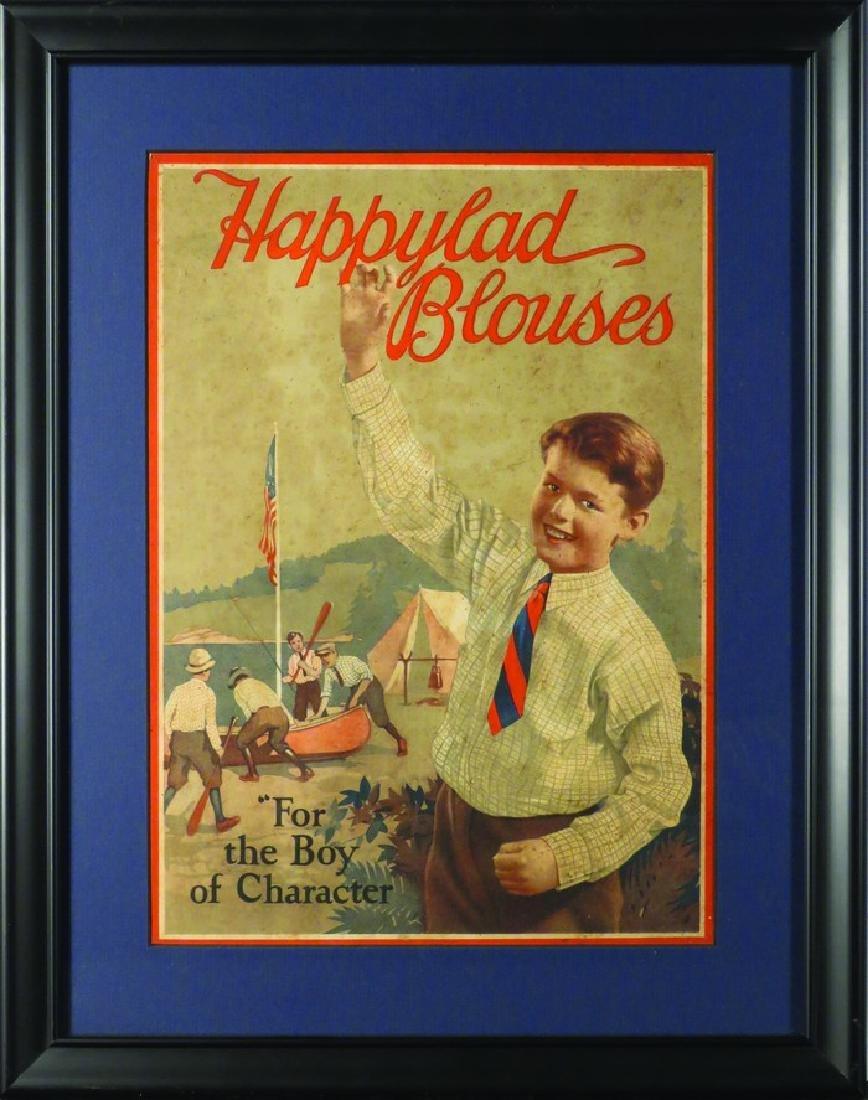 Happylad Blouses Cardboard Sign