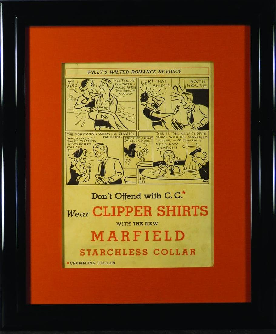 Clipper Shirts new Marfield Starchless Collar Sign