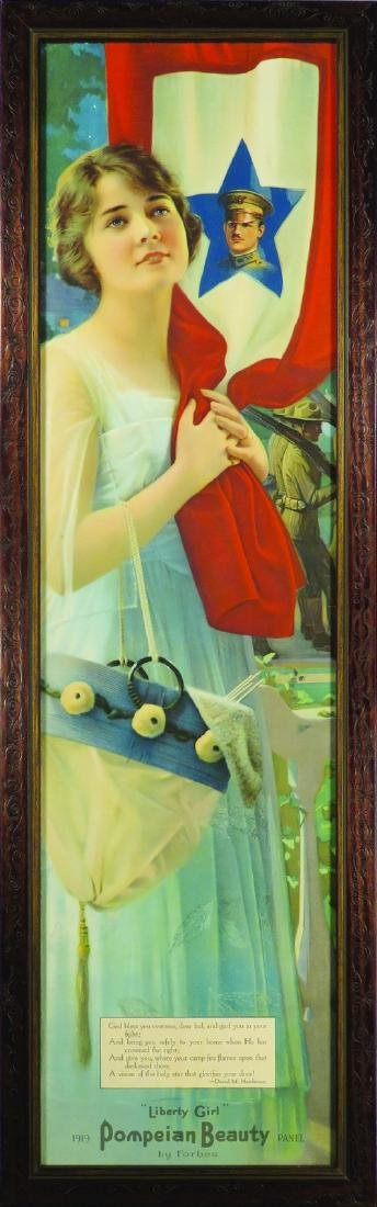 "1919 ""Liberty Girl"" Pompeian Beauty Yard Long"