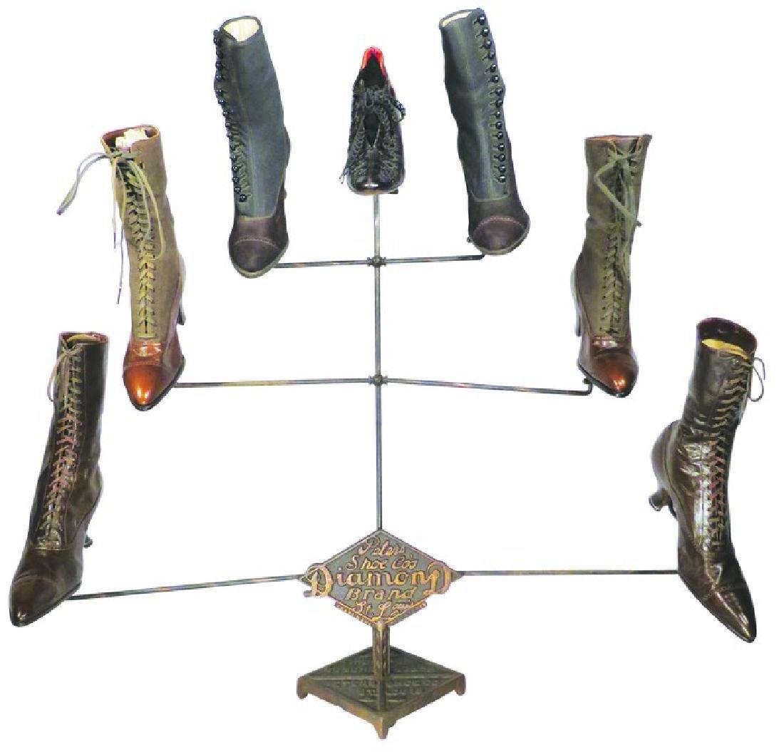Peter's Shoe Co. Diamond Brand Shoes Display