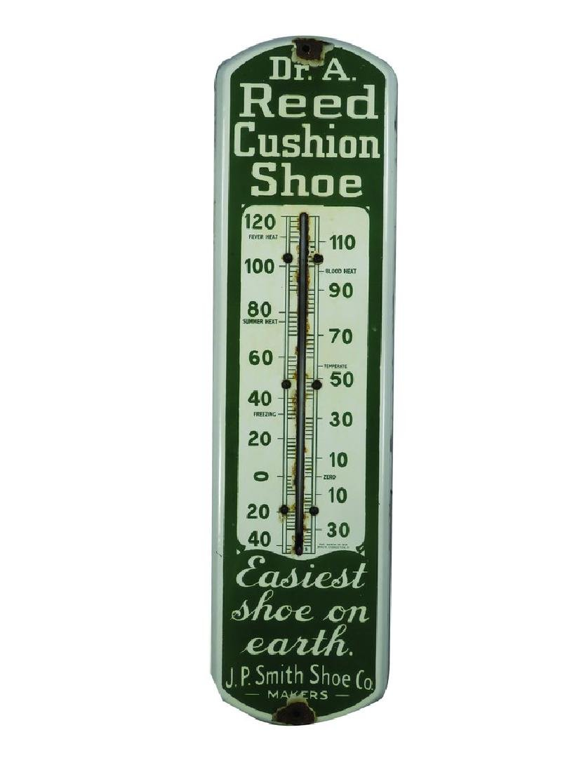 Dr. A. Reed Cushion Shoe Porcelain Thermometer