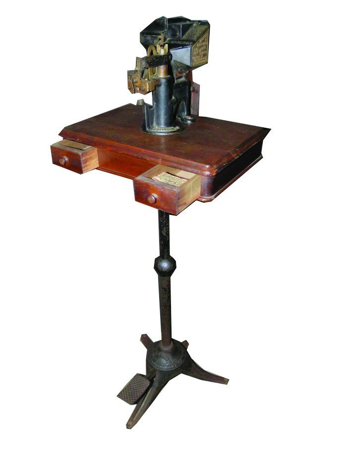 Heaton Peninsular Button Fastener Machine