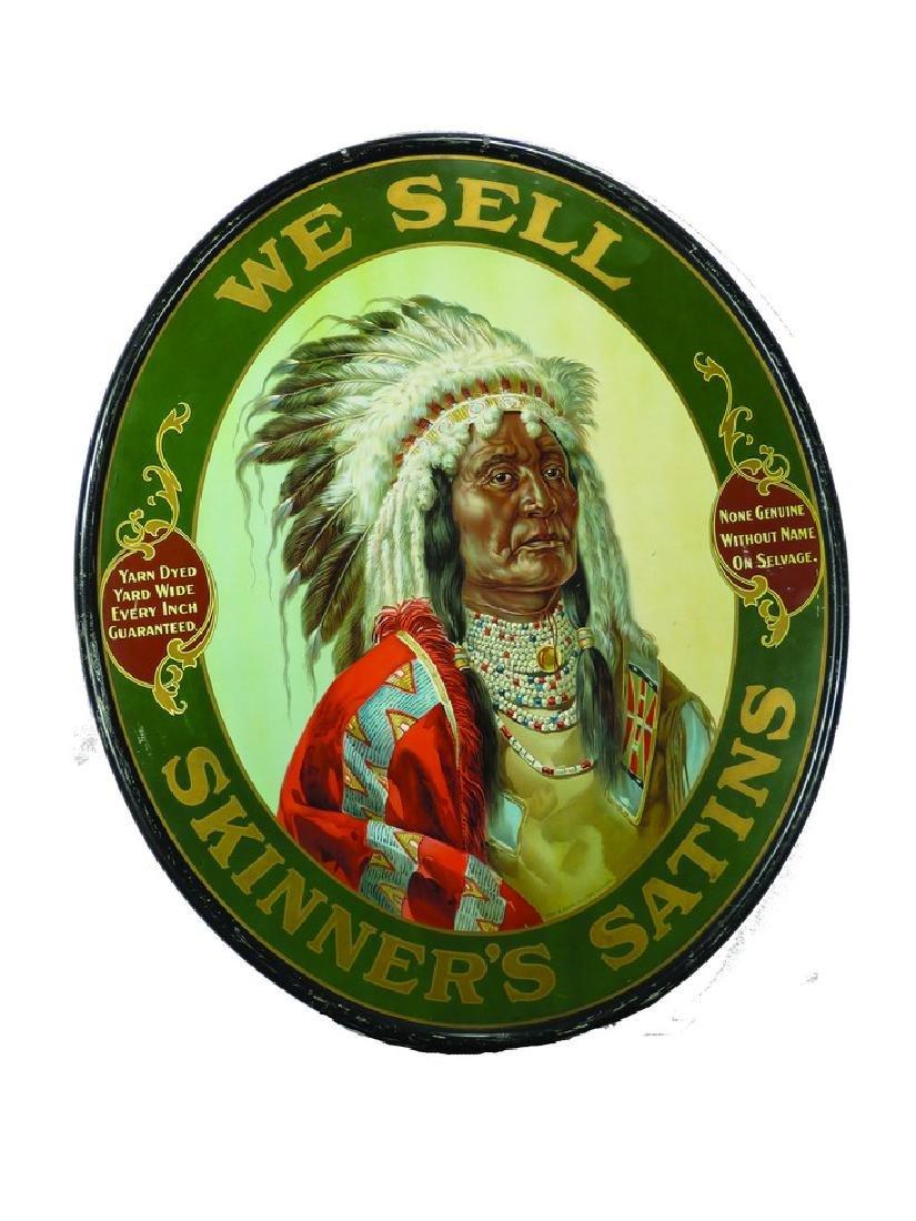 Skinner's Satin Tin Sign