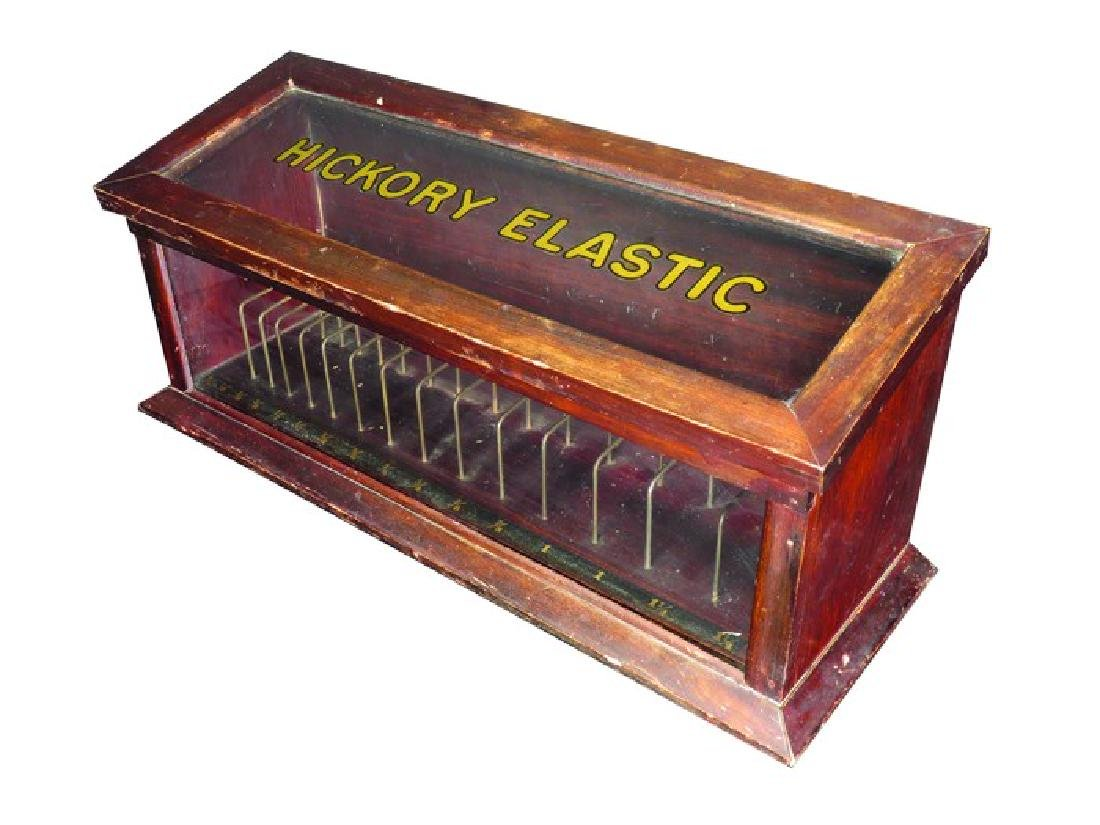 Hickory Elastic Store Display Case