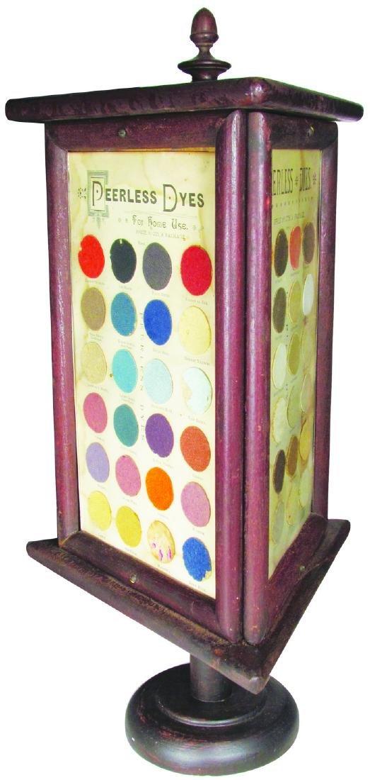 Rare Pearless Dye Store Display