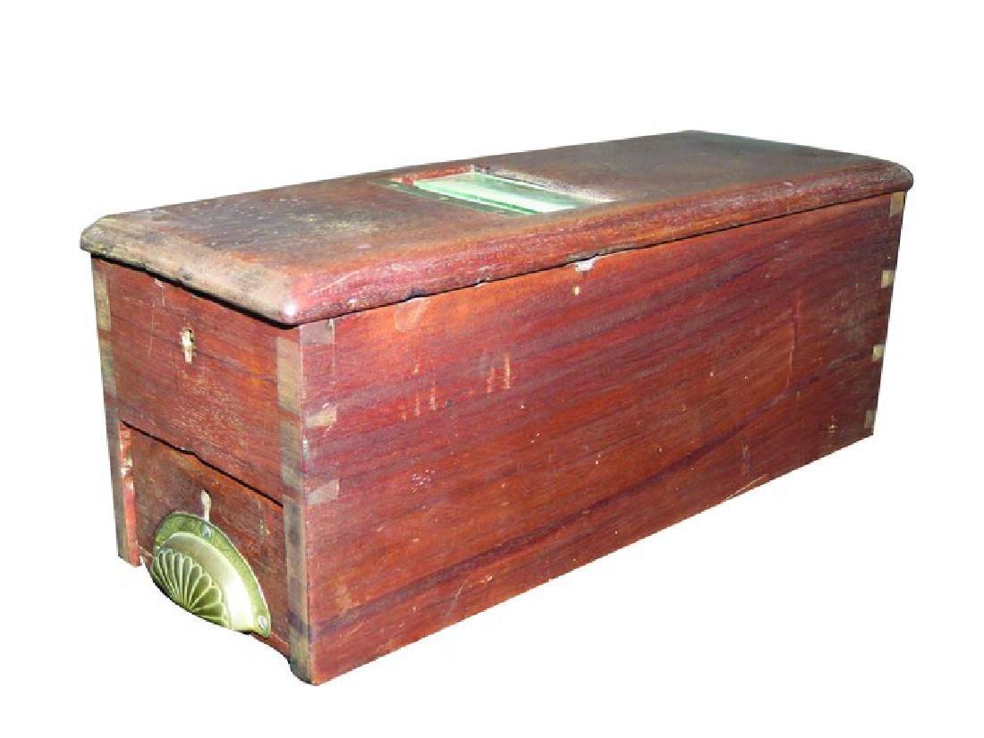 Wood Autographic Receipt Register