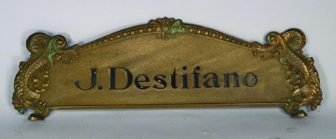 National Cash Register Personalized Top Sign