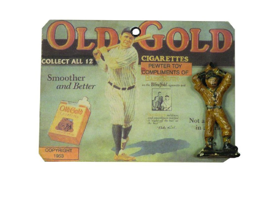 "Old Gold Cigarettes ""Babe Ruth"" Baseball Toy"
