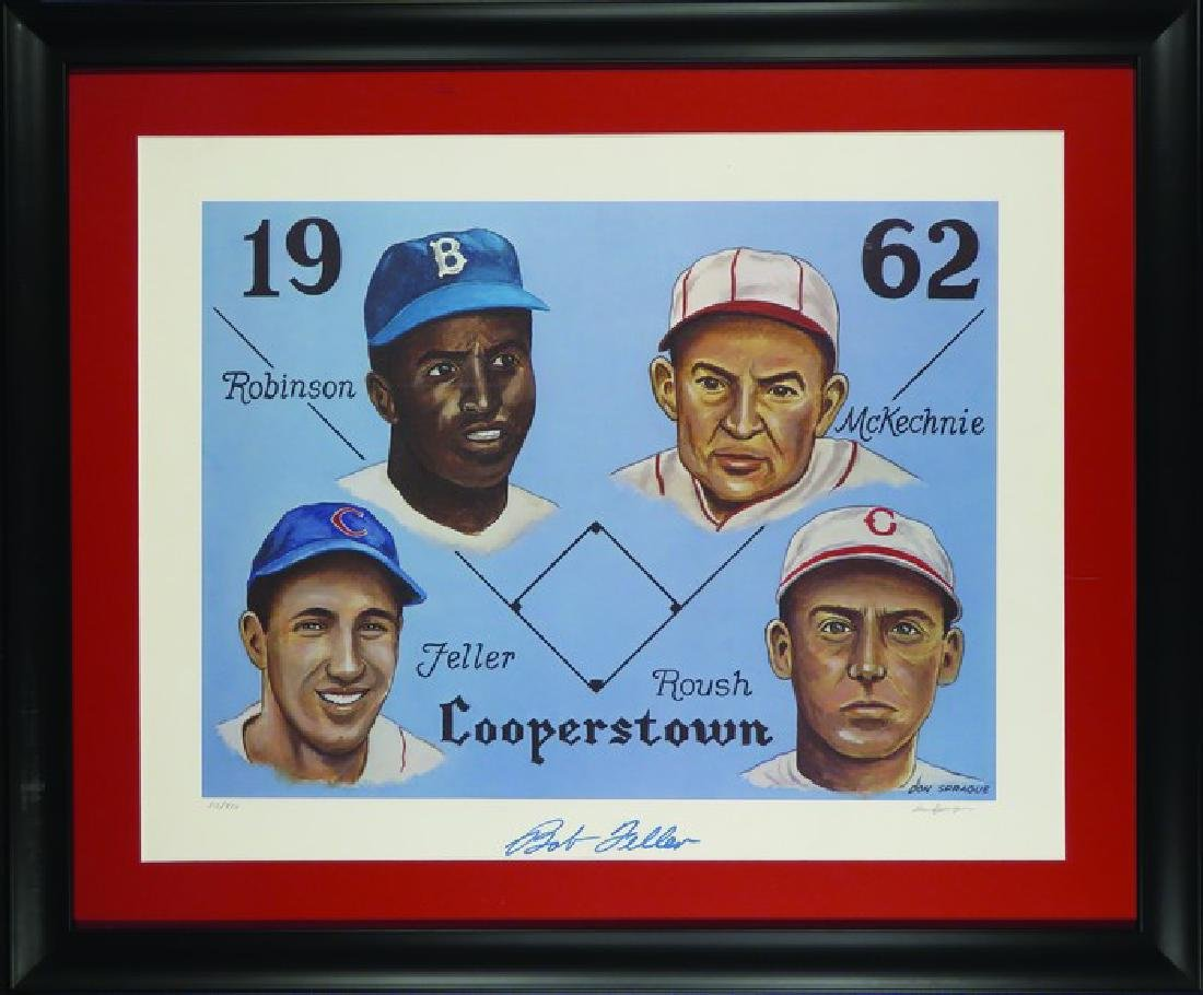 1962 Cooperstown Hall of Fame Limited Print