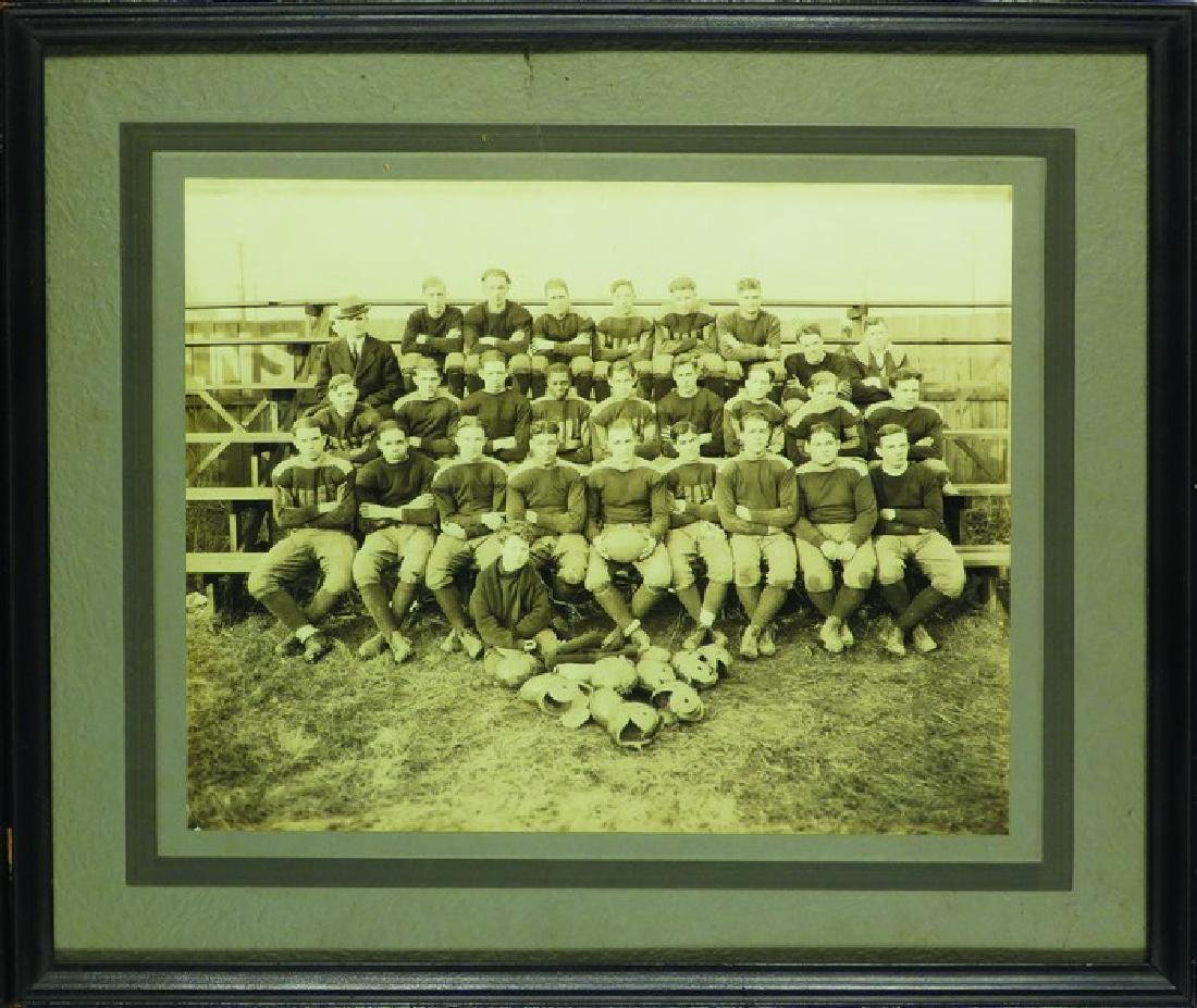 Early 1920 Football Squad Photo