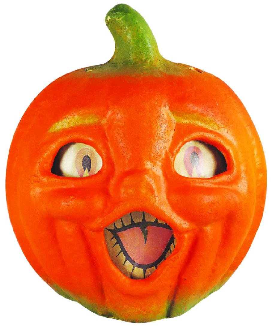 Jack O Lantern Molded Pulp Halloween Lantern