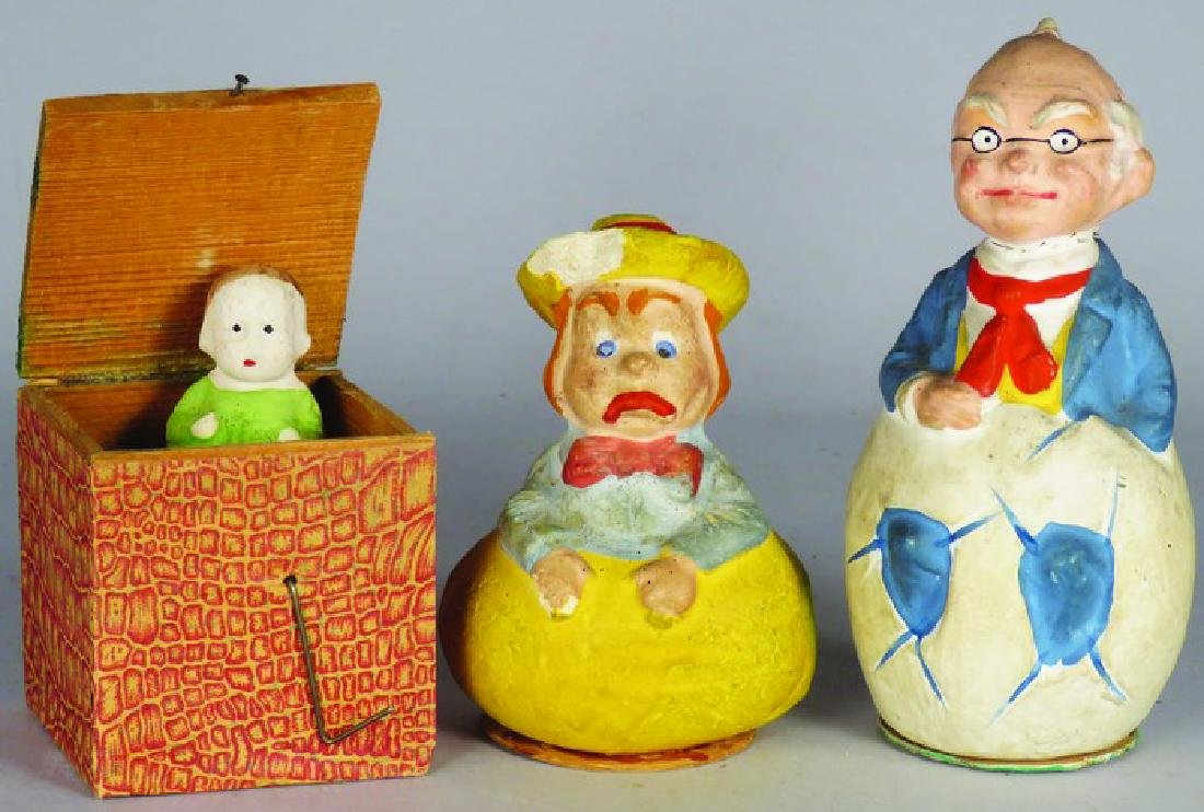 Lot of Paper Mache Holiday Items