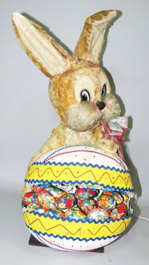Easter Bunny On Egg Automaton