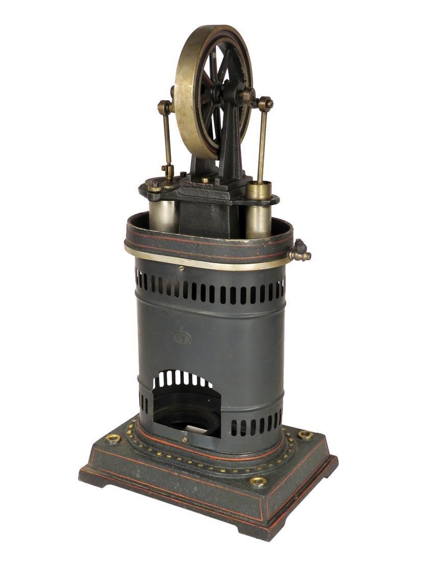 Antique Circa 1900 J.F. Child's Steam Engine Toy