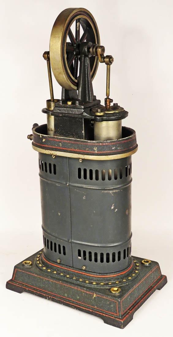 Antique Circa 1900 J.F. Child's Steam Engine Toy - 2