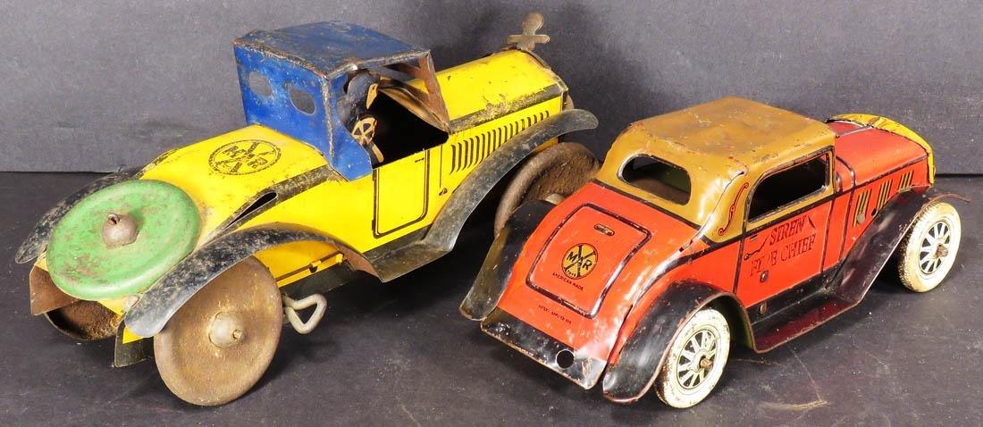 Two Louis Marx Tin Litho Wind Up Toys - 2
