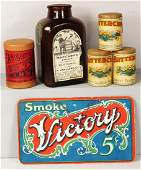 Collection of Tobacco Snuff Items
