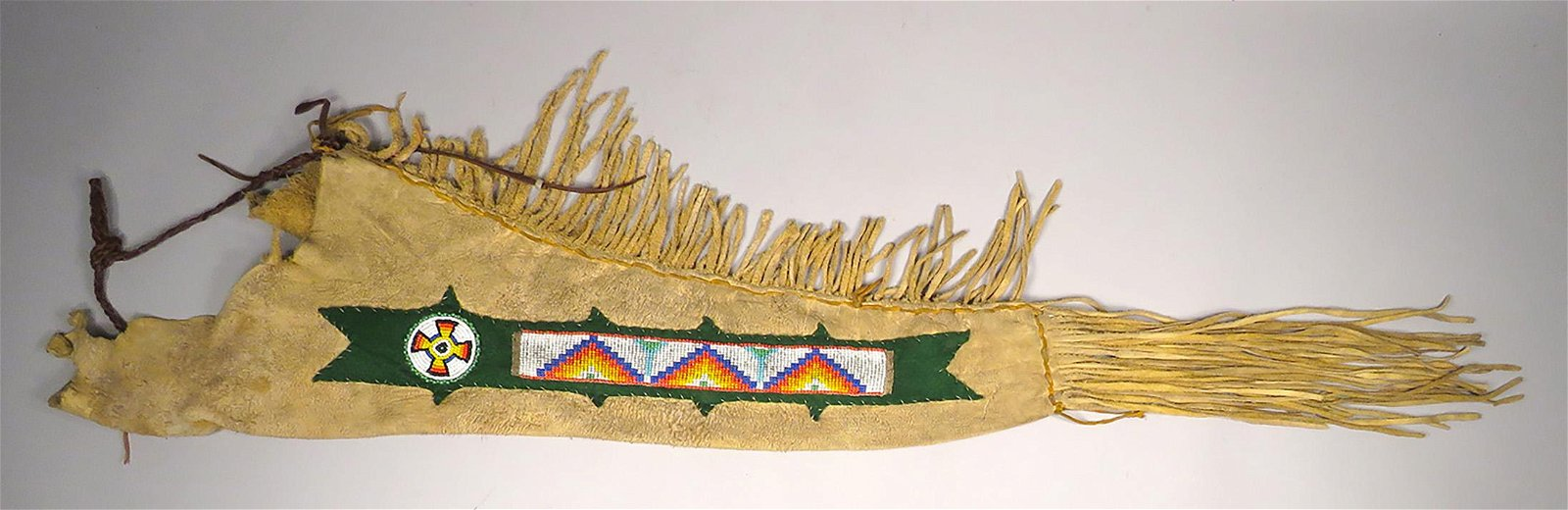 Vintage Native American Indian Beaded Quiver