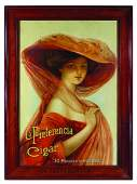 1911 La Preferencia Cigar Advertising Sign
