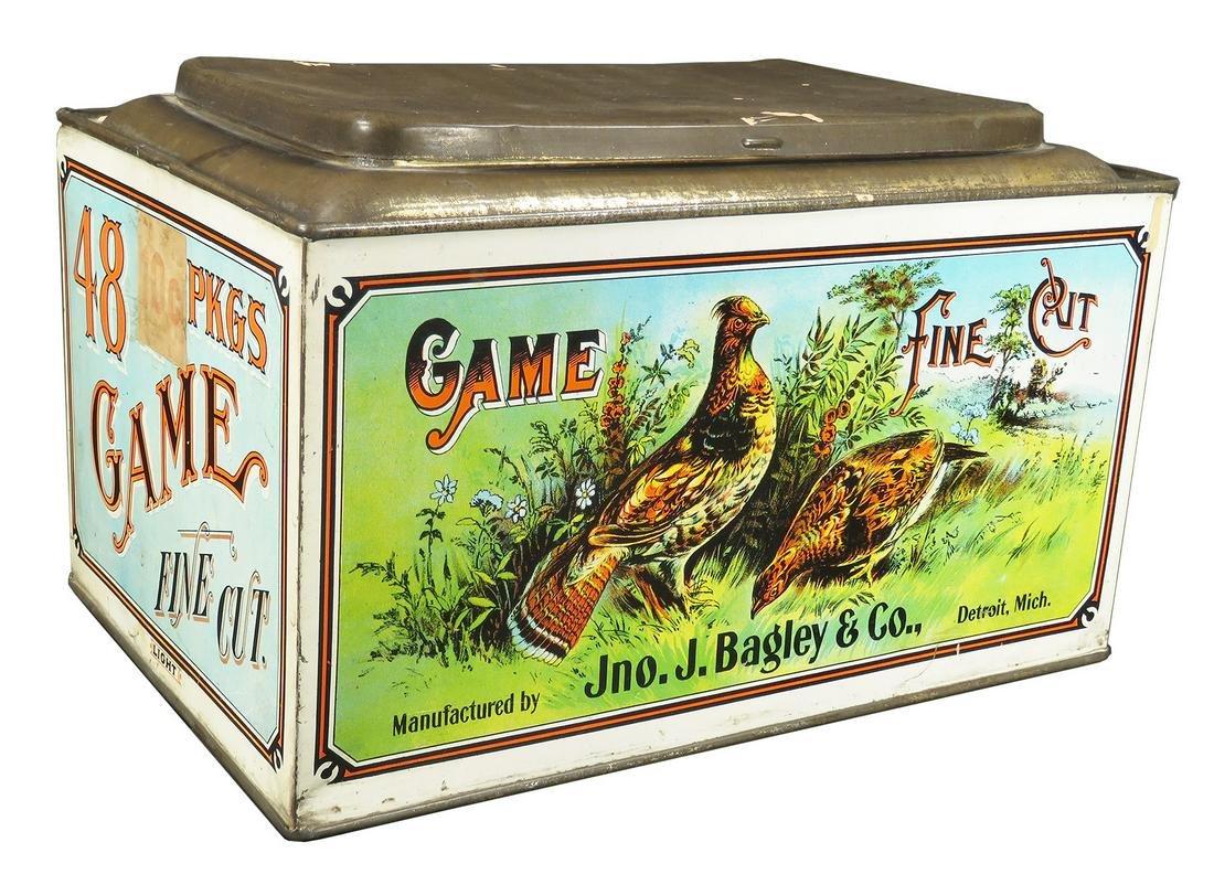 Game Fine Cut Tobacco Store Bin