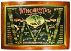 """Winchester Double """"W"""" Cardboard Cartridge Board"""