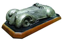 """Free Wheelin"" Stanley Wanlass Automotive Bronze"