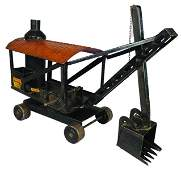 Keystone Pressed Steel Toy Steam Shovel