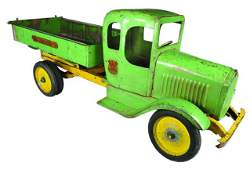 Rare, Hoenes Viking Pressed Steel Toy Truck
