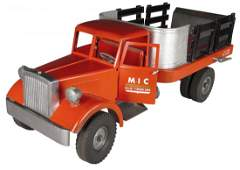 Smith Miller Pressed Steel Toy Lift-O-Matic Truck