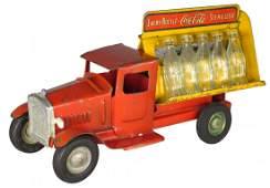 Metalcraft Pressed Steel Coca Cola Delivery Truck